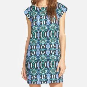 Sam Edelman illusion panel shift dress